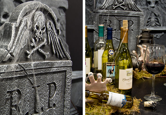 Cemetery Wine Bar decor available at BuyCostumes.com