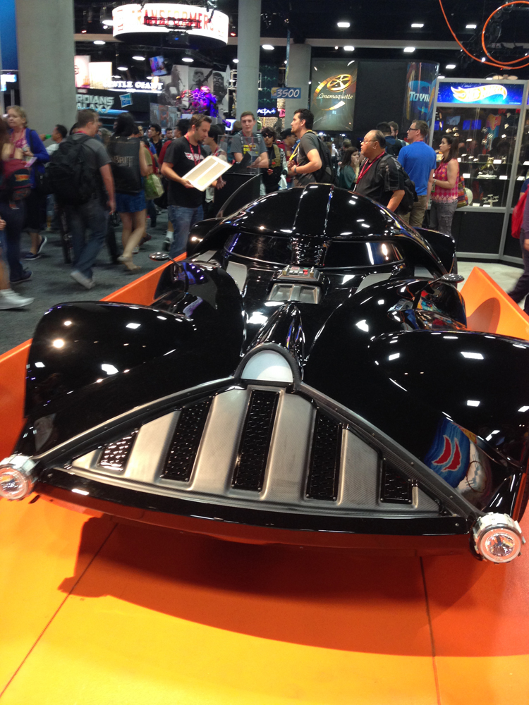 hot wheels vadermobile 2
