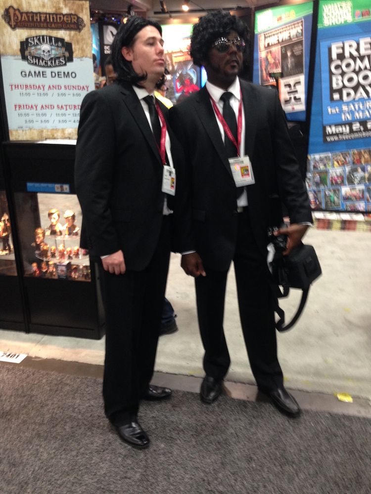 pulp fiction cosplay