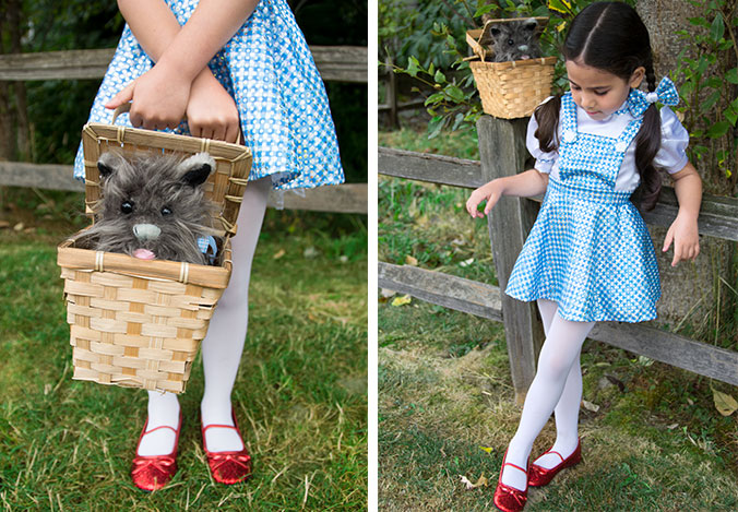 4ae11f1cae6 This Dorothy costume for kids looks just like it did in the movie