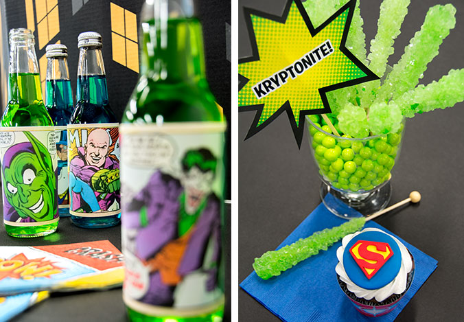 Superheroes Vs Villains Halloween Party Theme