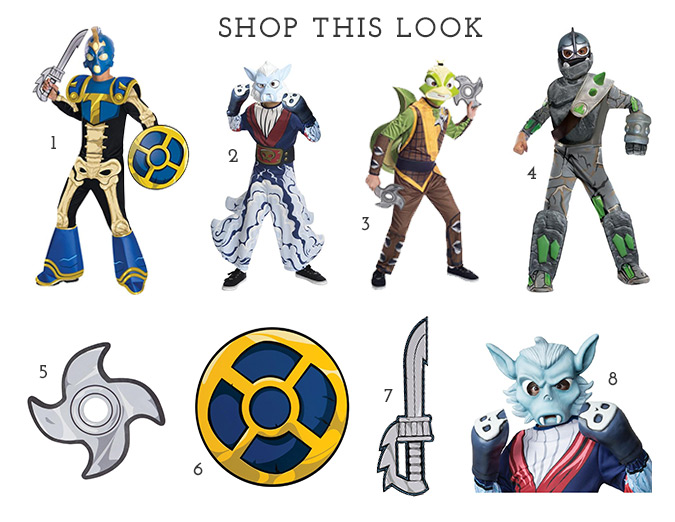 Skylanders costumes available at BuyCostumes.com