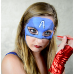 Captain Miss America Makeup Tutorial by Elsa Rhae