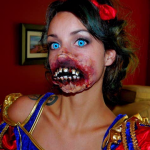 Zombie Snow White Makeup Tutorial