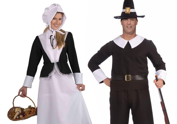 Pilgrim costumes make Thanksgiving better.