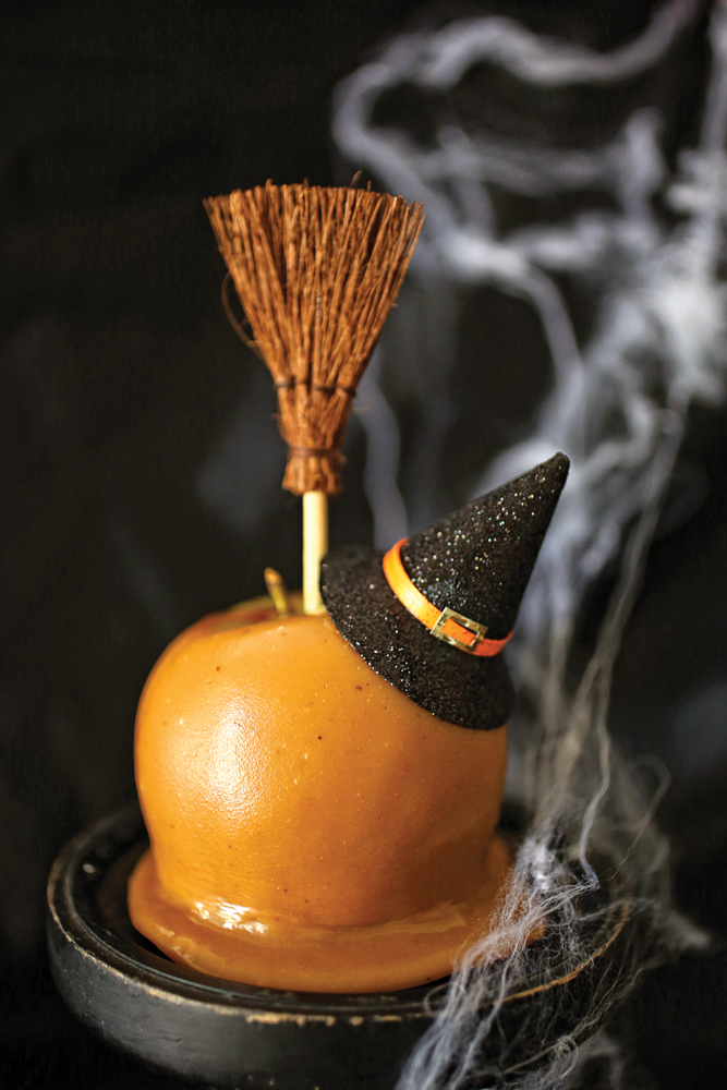 The orange list top halloween treats halloween costume for Caramel apple recipes for halloween