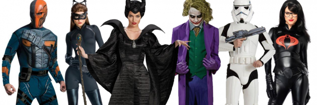 Top 10 Villain Costumes and Villainess Costumes