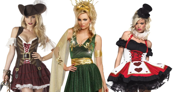 Sexy historical costumes