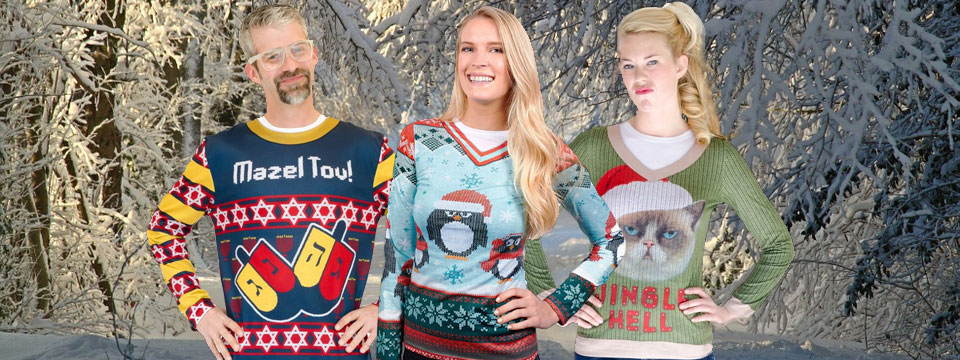 How to celebrate the season with ugly christmas sweaters halloween